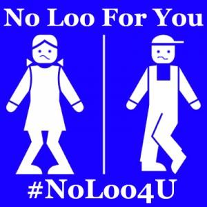 #NoLoo4U. (Transgender Law Center)