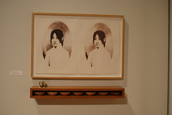 Artwork by Mills Studio Art Professor Hung Liu.