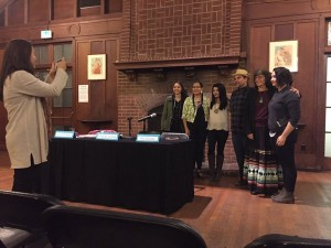 In honor of Native American Heritage Month,h the IWA hosted a panel for the community to attend. A